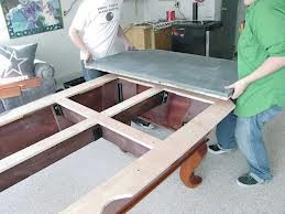 Pool table moves in Gainesville Florida