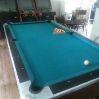Dynamo Money Operated Pool Table