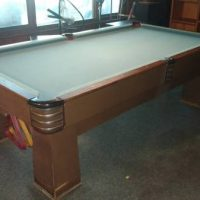 1938 Brunswick Challenger Pool Table