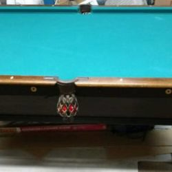 Brunswick Wellington Pool Table 1906-1911