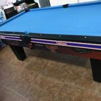 7' Collegiate Florida Gators Pool Table