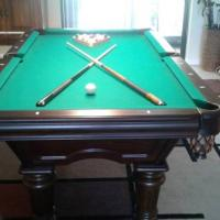 Brunswick 7 ft Pool Table Like New