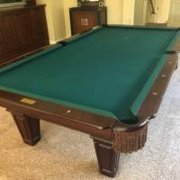 9 Foot Connelly 3 pc Slate Pool Table
