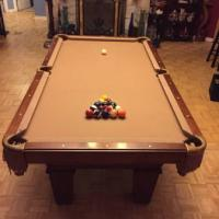 Pool Table Plus All Accessories