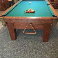 One Inch Slate Pool Table